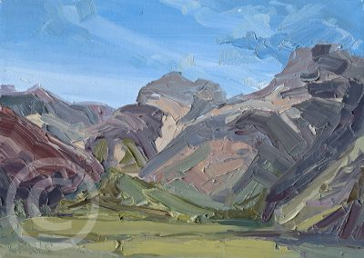 Study for Langdale Pikes