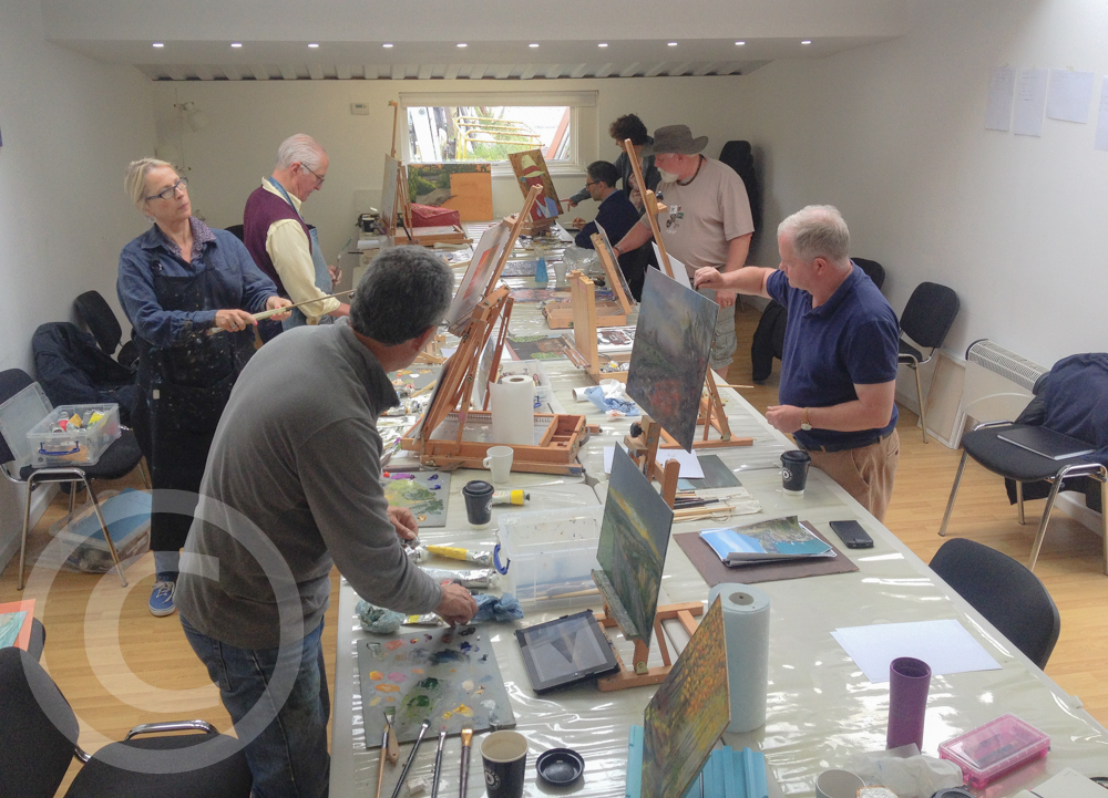 Join an Oil Painting Class