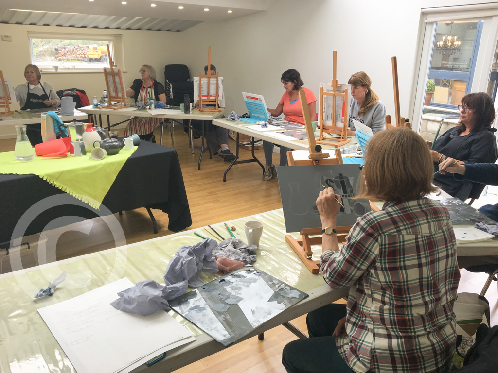 Join an Oil Painting Workshop