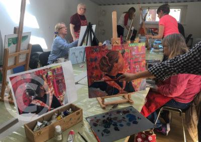 Oil Painting Class Portrait Study