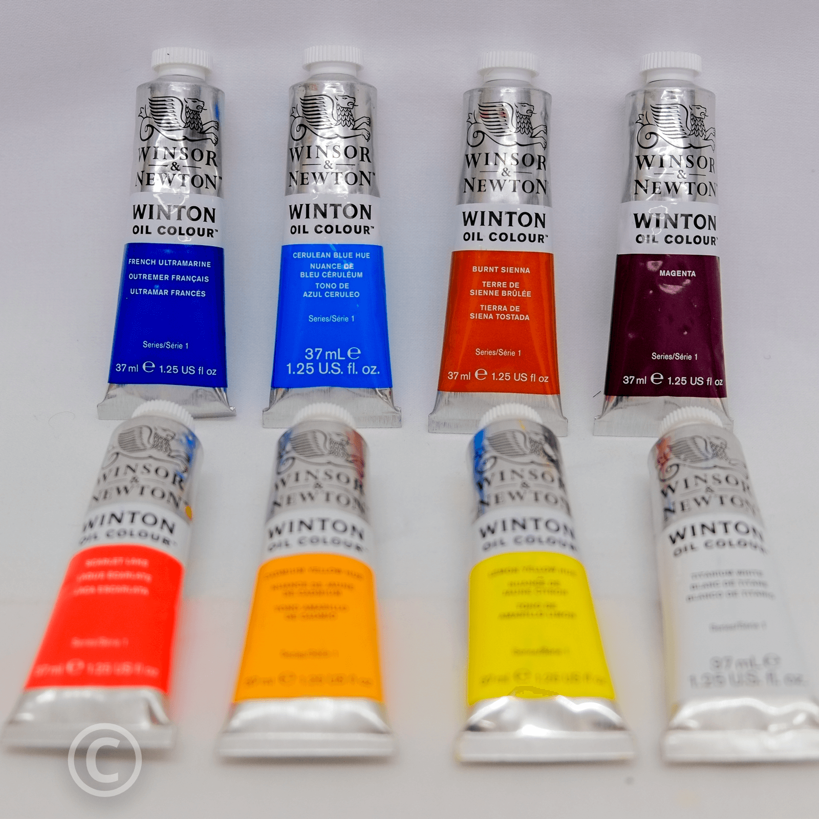 Beginners Basic Oil Painting Colours Set