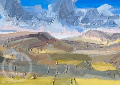 Study for Longridge and Parlick