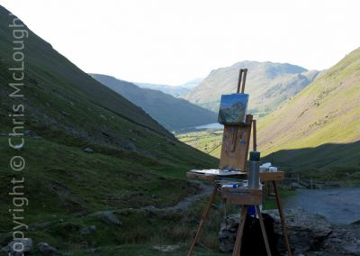 Painting In Kirkstone Pass