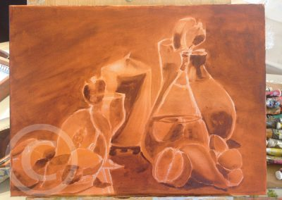 Underpainting With Layers