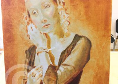 Atelier Underpainting Portrait